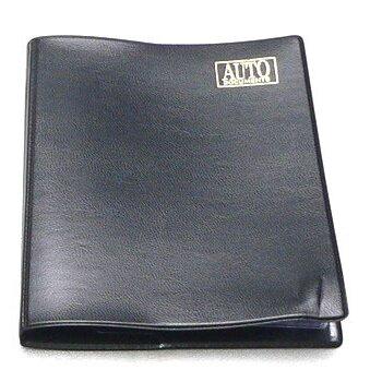 Бумажник водителя в мягкой обложке,6 карманов,станд.р-р (цв.ПВХ-пластик)