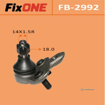 "Шаровая опора ""FIXONE""   front low AVENSIS/ AT220L"