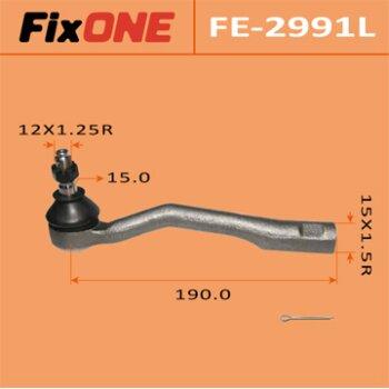 "Наконечник рулевой тяги ""FIXONE""  CALDINA/ ST190G LH"