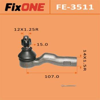 "Наконечник рулевой тяги ""FIXONE""  MARK II/ JZX100"