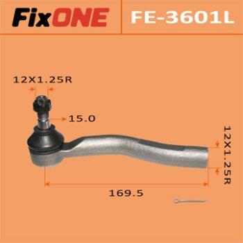 """Наконечник рулевой тяги """"FIXONE""""  YARIS/ SCP10L  LH"""