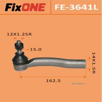 """Наконечник рулевой тяги """"FIXONE""""  COROLLA/ NZE12#, ALTIS/ CE121, WISH/ ANE10, ZNE10 LH"""