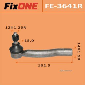 """Наконечник рулевой тяги """"FIXONE""""  COROLLA/ NZE12#, ALTIS/ CE121, WISH/ ANE10, ZNE10 RH"""