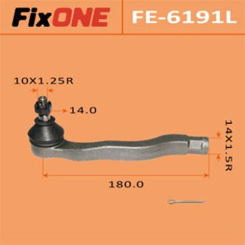 "Наконечник рулевой тяги ""FIXONE""  CIVIC/ EG3  LH"