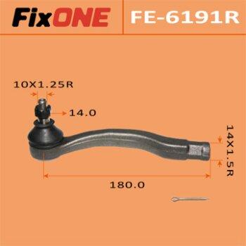 "Наконечник рулевой тяги ""FIXONE""  CIVIC/ EG3  RH"