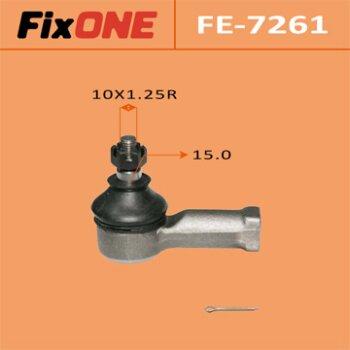 Наконечник рулевой тяги FIXONE  GALANT/ EC1A, EC3A, EC5A   (1/10)
