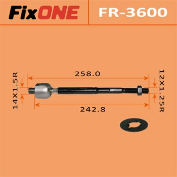 Рулевая тяга FIXONE FR-3600