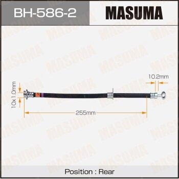 Шланг тормозной MASUMA BH-586-2
