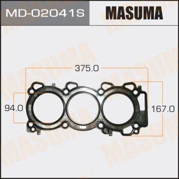Прокладка Головки блока MASUMA  VQ30DE front (1/10) Толщина 1,6 мм