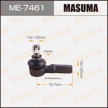 Наконечник рулевой тяги MASUMA ME-7461