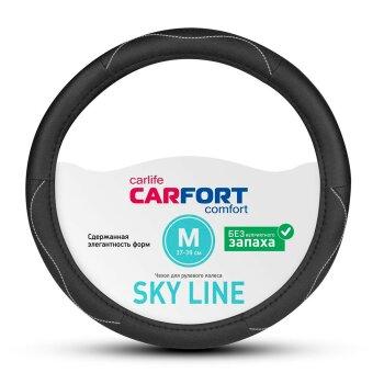 Оплетка CARFORT Sky Line черная М CS8182
