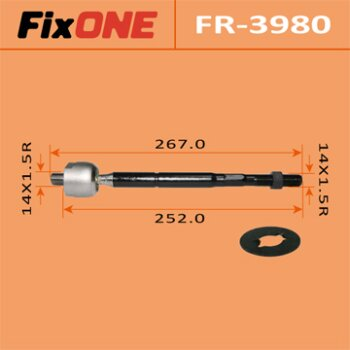 Рулевая тяга FIXONE  MARK II/ ##X110, CROWN/ ##S17#, ALTEZZA/ ##E10   (1/20)