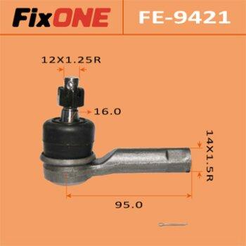 Наконечник рулевой тяги FIXONE   TRIBUTE/ EPEW, EP3W   (1/40)