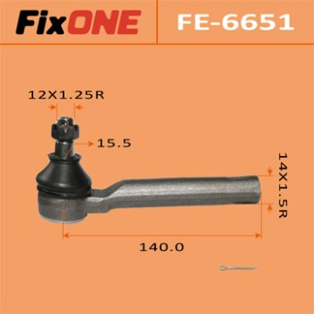 Наконечник рулевой тяги FIXONE   LEGACY/ BL5   (1/20)