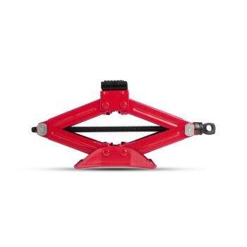 Домкрат винтовой ромбический Carfort, 1000кг, подъём 105-340мм, сумка