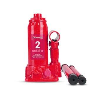 Домкрат гидравлический бутылочный Carfort, 2000кг, подъем 158-308мм, сумка