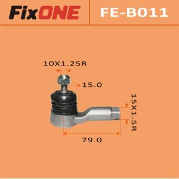 Наконечник рулевой тяги FIXONE   OUTLANDER/ CU2W, CU5W   (1/48)