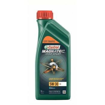 Масло моторное  Castrol Magnatec Stop-Start 5w30 SN/C3 синтетическое,  для бензинового двигателя 1л