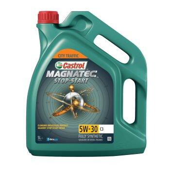 Масло моторное  Castrol Magnatec Stop-Start  5w30  SN/C3 синтетическое, для бензинового двигателя 5л
