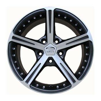 Автодиск R16 Sakura Wheels R416 16*7J/5-114.3/73.1/+38 BF-P
