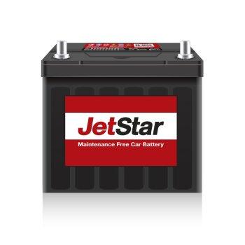 Аккумулятор JetStar 55B24L, 45Ач, CCA 450А, необслуживаемый