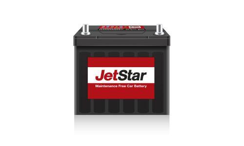 Аккумулятор JetStar 55B24R, 45Ач, CCA 450А, необслуживаемый