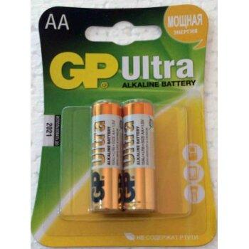 Элемент питания GP LR 6 15AU Ultra BL-2/2 (2шт)