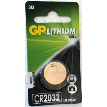 Элемент питания GP CR2032-BC/1 (1шт)