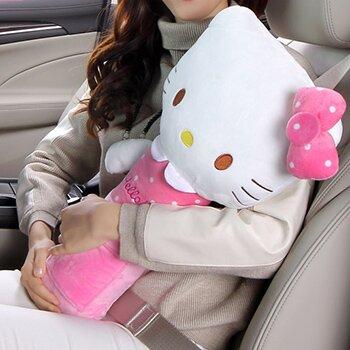 Подушка на ремень безопасности, большая, Kitty