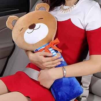 Подушка на ремень безопасности, большая, Teddy