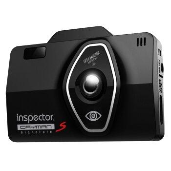 """Видеорегистратор с радар-детектором автомобильный Inspector Cayman S на лобовое стекло, 4Мп, 1920х1080, обзор 130°, экран 2.4"""", GPS, сигнатура"""