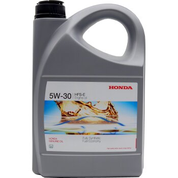 Масло моторное Honda HFS-E 5w30   SN/GF-5 синтетическое, для бензинового двигателя 4л
