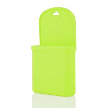 Силиконовый мешочек для мелочи/телефона, зеленый
