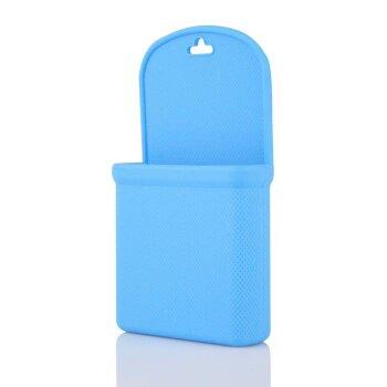 Силиконовый мешочек для мелочи/телефона, синий