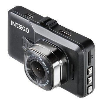 """Видеорегистратор автомобильный Intego VX-215 HD на лобовое стекло, 1Мп, 1280x720, обзор 120°, экран 2.7"""""""