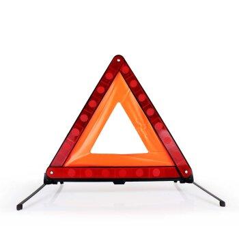 Знак аварийной остановки Carfort, на ножках, в пластиковом боксе