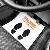 Коврик автомобильный Masuma защитный, бумажный, одноразовый