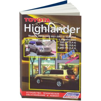 Toyota  Hilander модели 2WD и 4WD ( 1/8)