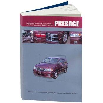 яNissan  PRESAGE,  1998-2003  (2WD и 4WD)  Дизель,  YD25DDTi (NEO Di) (1/8)
