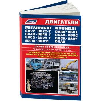 яMitsubishi Двиг (Дизел)  6D22(T), 6D24(T),  6D40 (T), 8DC9, 8DC10, 8DC11 Hyundai D6AU, D 6AZ, D6AB..