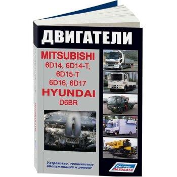 Mitsubishi  Двигатели   6D14 (6,6л), 6D15 (6,9л), 6D16 (7,5л), 6D17 (8,2л), Hyundai D6BR (7,5л)