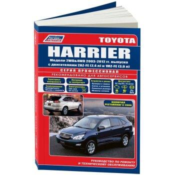 Toyota  HARRIER  2003-2006 г. 2WD&4WD 2,4 л(2AZ-FE) и 3,0 л(1MZ-F)   (1/5)