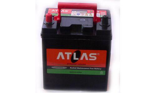 """Аккумулятор  """"ATLAS""""   90 а/ч  R 295*165*200  AMF  Обслуж.  /СЕРЫЙ/"""