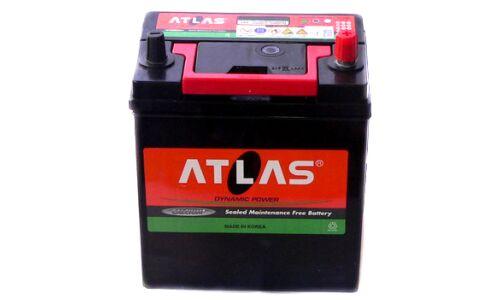 "Аккумулятор  ""ATLAS""   45 а/ч  L 230*125*200 малая клемма  AMF  Обслуж.  /СЕРЫЙ/"