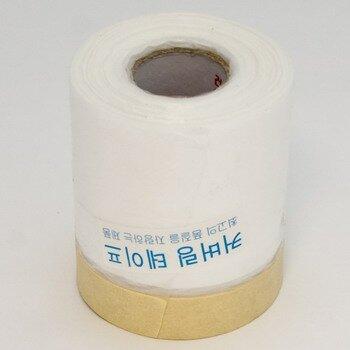 "Скотч малярный ""Корея"" с полиэтилен. пленкой   400mm -20м   (1/60)"