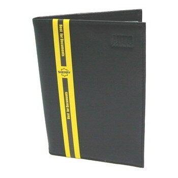 Бумажник водителя 8 карманов (д/кредитн.карт,пасп),станд.р-р (кожа анилин-люкс чёрн)