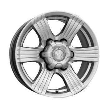 Автодиск R16 K&K Невада 16*8J/6-139.7/110.1/-15 Блэк платинум (КС526-01)