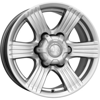 Автодиск R16 K&K Невада 16*8J/6-139.7/106.1/+10 Блэк платинум (КС526-08)
