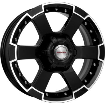 Автодиск R16 K&K М56 16*7J/6-139.7/108.1/+38 Алмаз черный (КС593-07)
