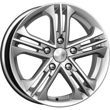 Автодиск R15 K&K Trinity 15*6J/5-100/67.1/+39 Блэк платинум (КС615-01)